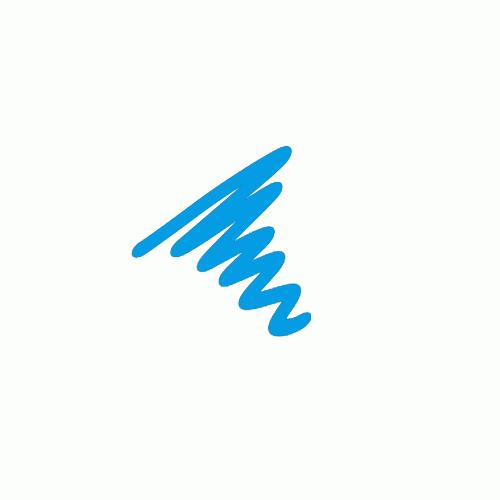 Semi  Permanent Ink Pen Turquoise