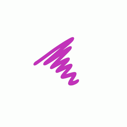 Semi  Permanent Ink Pen Purple