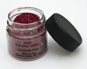 Red Loose Glitter