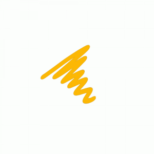 Semi  Permanent Ink Pen Yellow
